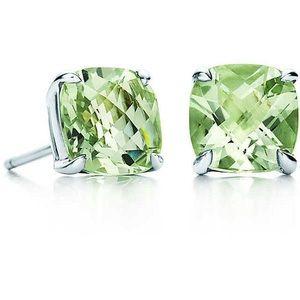 Tiffany & Co. Prasiolite Sparkler Earrings